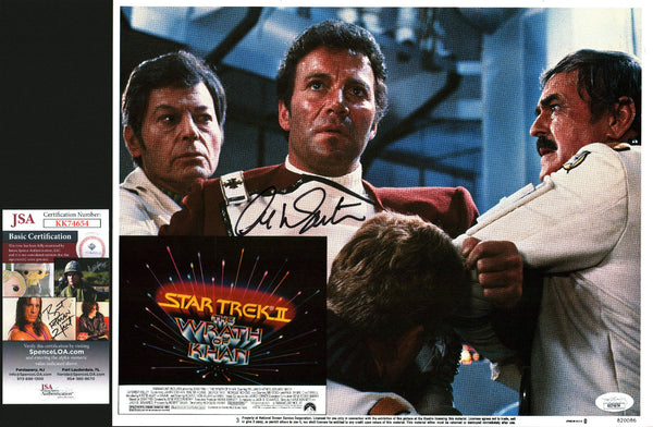 William Shatner Star Trek 11x14 Lobby Card Signed Autograph JSA Certified COA Auto GalaxyCon