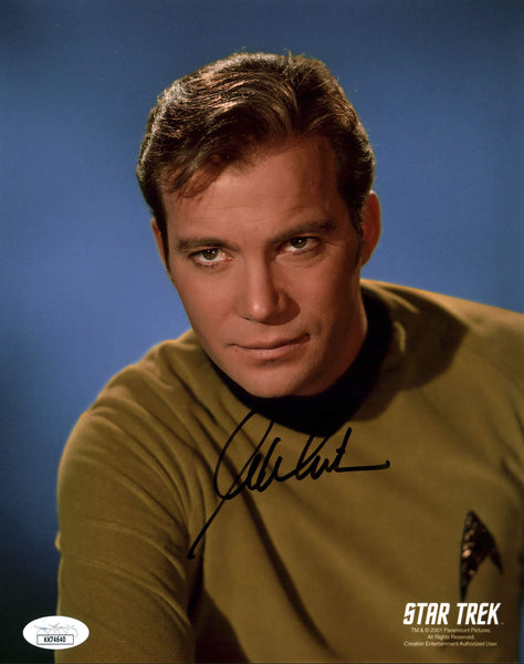 William Shatner Star Trek 8x10 Photo Signed Autographed JSA Certified COA GalaxyCon