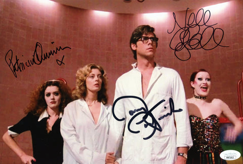 RHPS 8x12 Photo Signed Autograph Bostwick Campbell Quinn JSA Certified COA