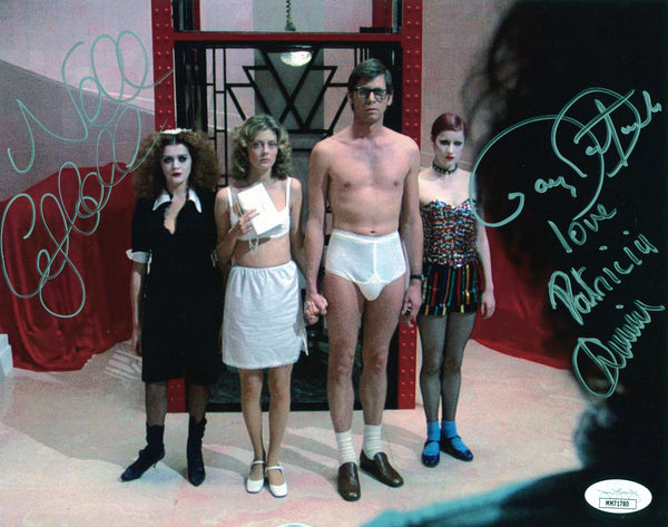 RHPS 8x10 Photo Signed Autograph Bostwick Campbell Quinn JSA Certified COA