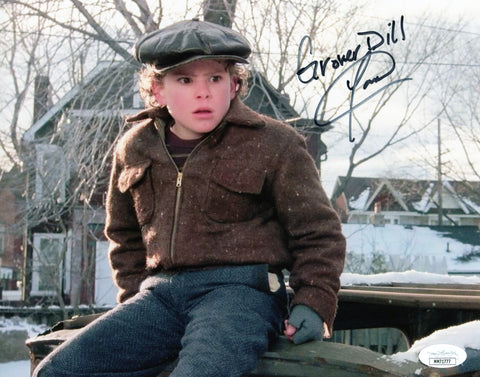 Yano Anaya A Christmas Story 8x10 Photo Signed Autographed JSA Certified COA