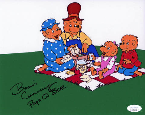 Brian Cummings Berenstain Bears 8x10 Photo Signed Autographed JSA Certified COA
