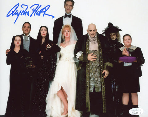 Anjelica Huston The Addams Family 8x10 Photo Signed Autograph JSA Certified COA Auto