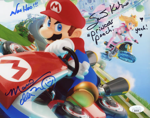 Super Mario 8x10 Photo Signed Autograph Martinet Kelly JSA Certified COA