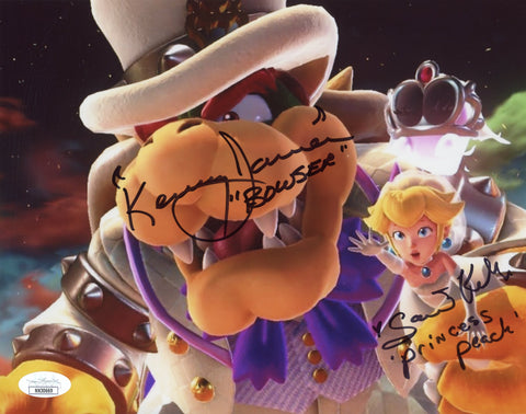 Super Mario 8x10 Photo Signed Autograph James Kelly JSA Certified COA