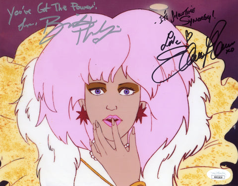 Jem and The Holograms 8x10 Photo Signed Autograph Newark Phillips JSA Certified COA