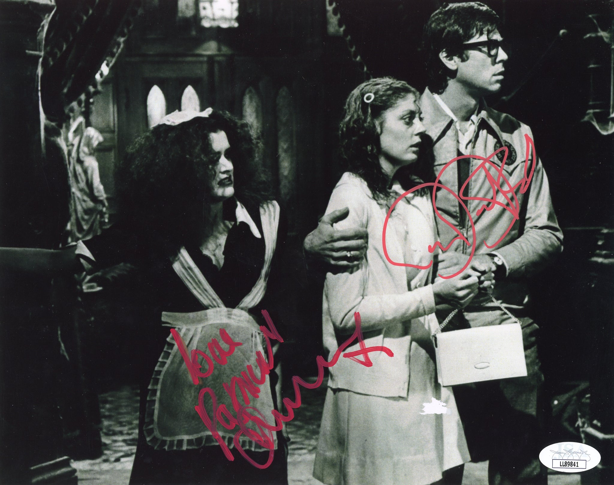 Rocky Horror Picture Show RHPS 8x10 Photo Signed Autograph Bostwick Quinn JSA Certified COA Auto