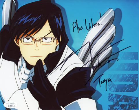 J Michael Tatum My Hero Academia 8x10 Photo Signed Autographed JSA Certified COA Auto