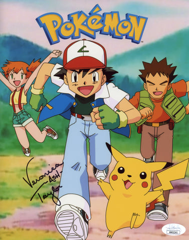 Veronica Taylor Pokemon 8x10 Photo Signed Autograph JSA Certified COA Auto