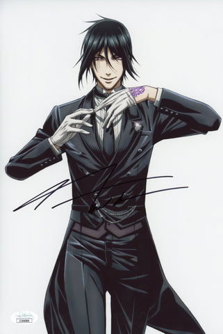 J Michael Tatum Black Butler 8x12 Photo Signed Autograph JSA Certified COA Auto