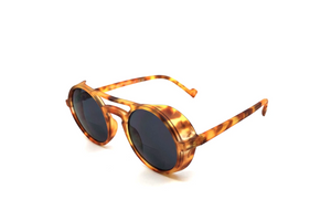 Load image into Gallery viewer, Aptica Polar Panto Major Sunglasses Unisex Polarised Sun Lens Sideview