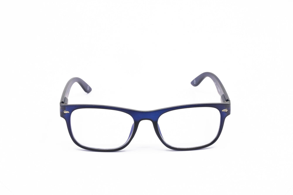 Aptica University Alfa Blue Ready Reading Glasses Unisex Blue Light Filter Frontview