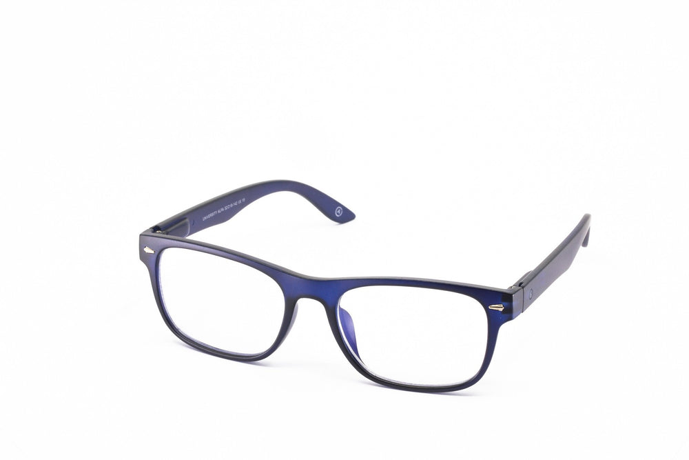 Aptica University Alfa Blue Ready Reading Glasses Unisex Blue Light Filter Sideview