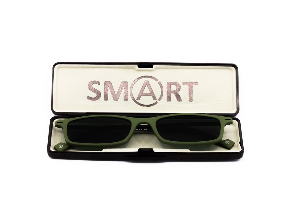 Load image into Gallery viewer, Aptica Smart Sun Sage Ready Reading Sunglasses Unisex Box