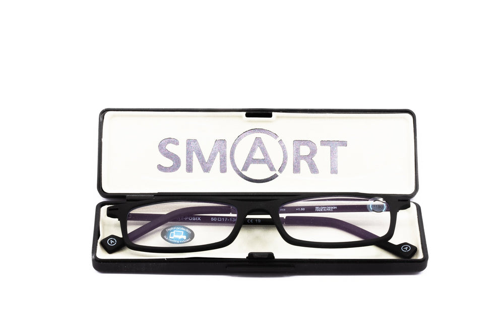 Aptica Smart Travel Posix Ready Reading Glasses Unisex Blue Light Filter Box