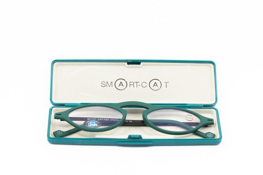 Aptica Smart Cat Tes Ready Reading Glasses Unisex Blue Light Filter Box