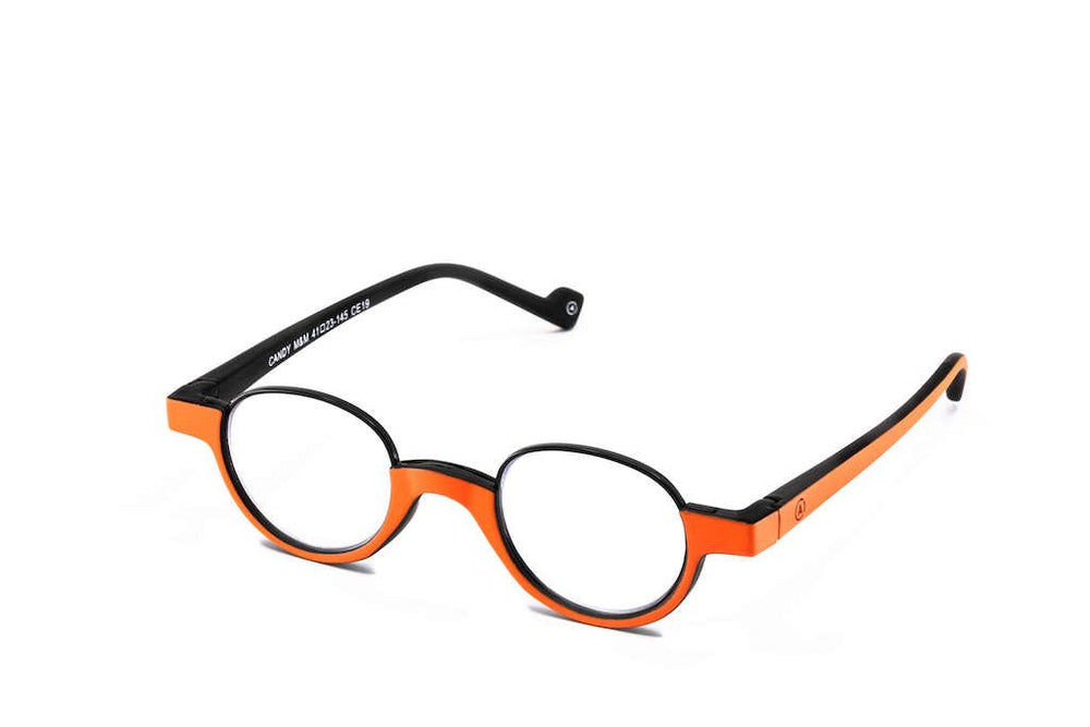 Aptica Cocktail Aperol Ready Reading Glasses Unisex Blue Light Filter Sideview