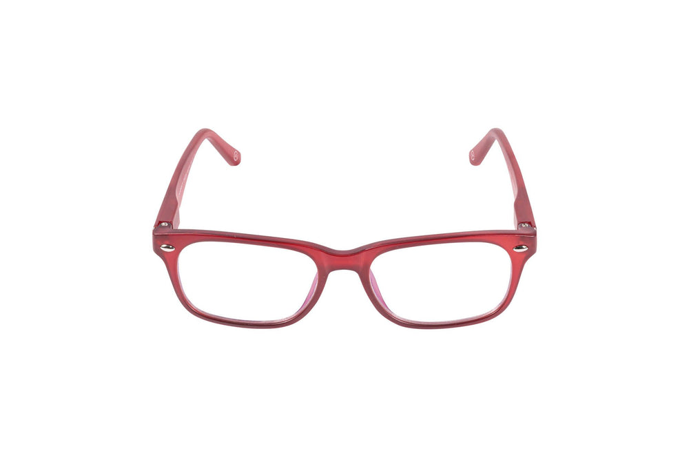 Load image into Gallery viewer, Aptica University Omega Red Ready Reading Glasses Unisex Blue Light Filter Frontview