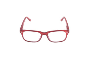 Aptica University Omega Red Ready Reading Glasses Unisex Blue Light Filter Frontview
