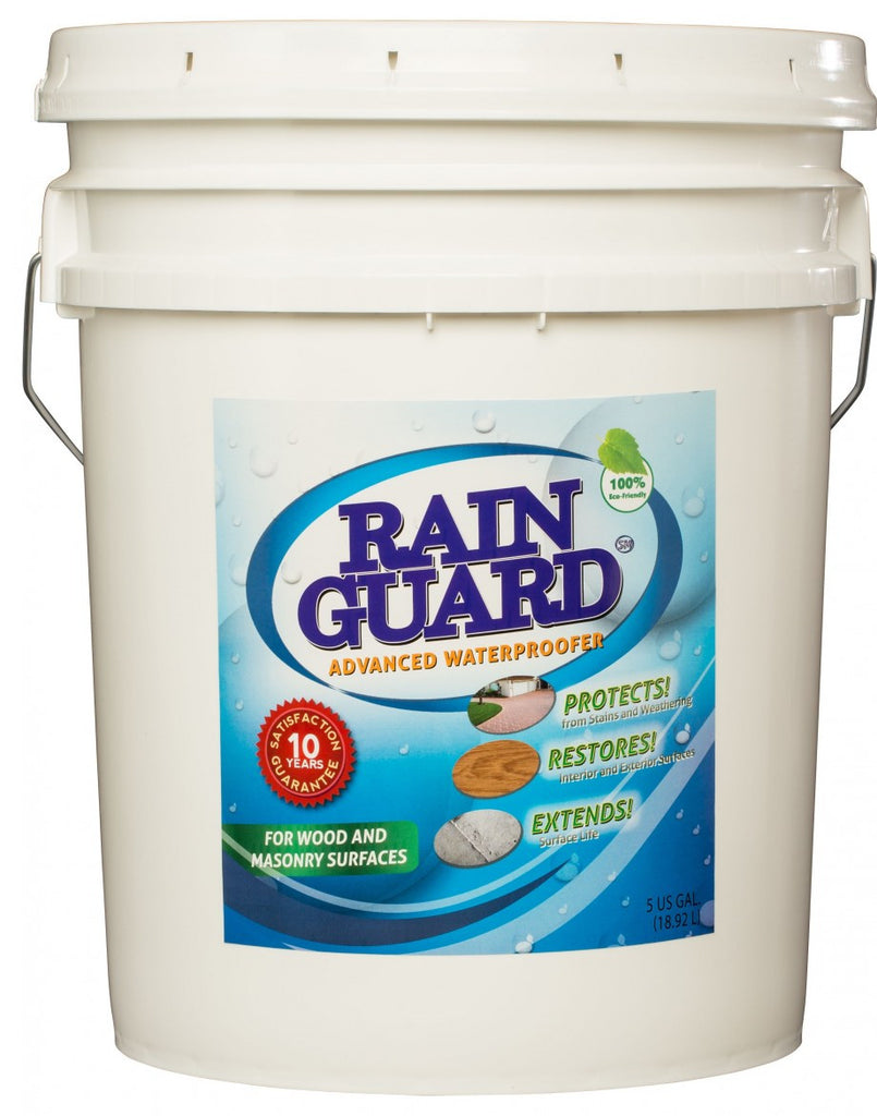 Rainguard Advanced Waterproofer 10 year 5 Gallon Pail