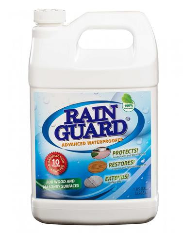 Rainguard Advanced Waterproofer 10 year Concentrate (Makes 1 Gallon) 6 Oz. Eco-Pod