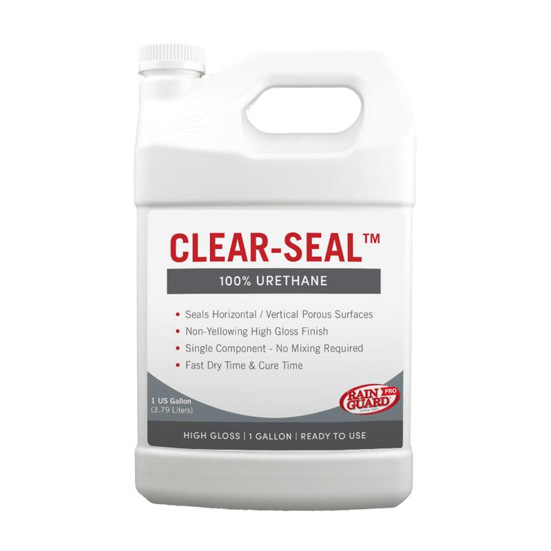 Clear Seal 100% Urethane Two-Part Component Kit High Gloss