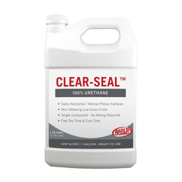 Clear Seal 100% Urethane Low Gloss
