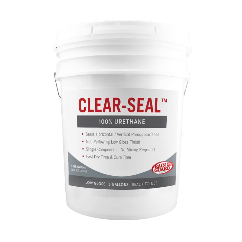 Clear Seal 100% Urethane Two-Part Component Kit Low Gloss