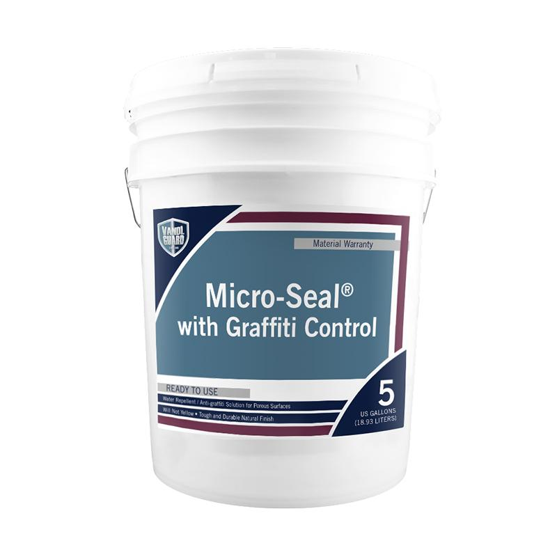 Micro-Seal w/ Graffiti Control Water Repellent / Anti-Graffiti