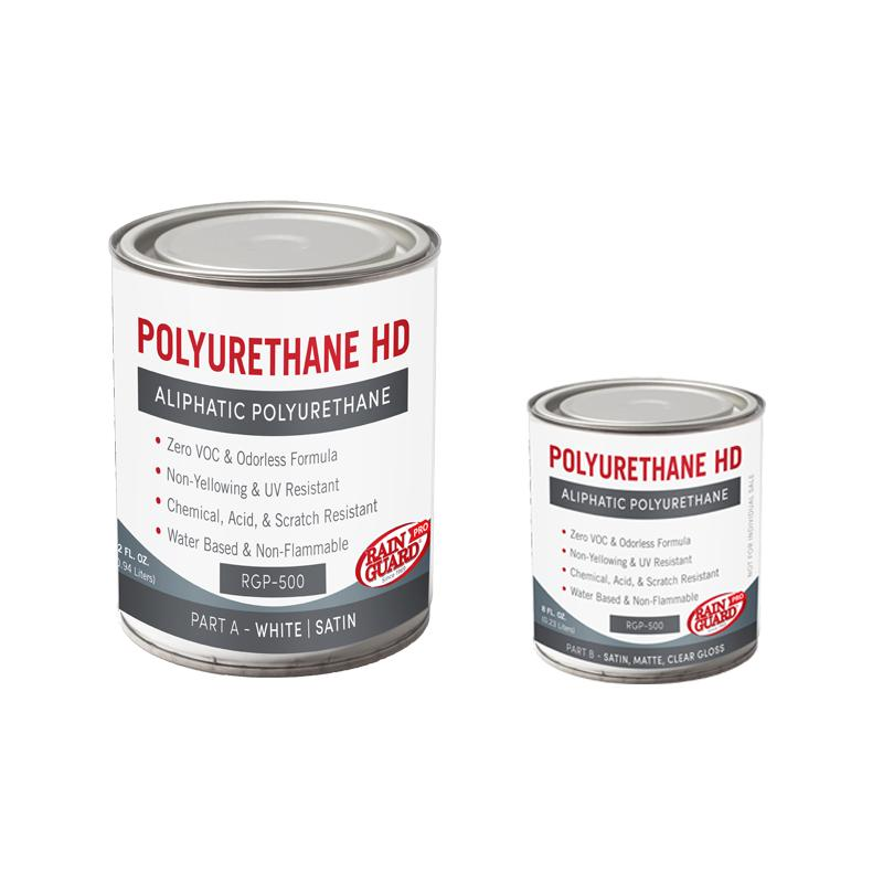 Polyurethane Heavy Duty HD White Base Satin Finish