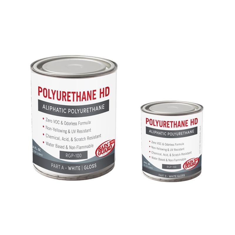 Polyurethane Heavy Duty HD White Base Gloss Finish