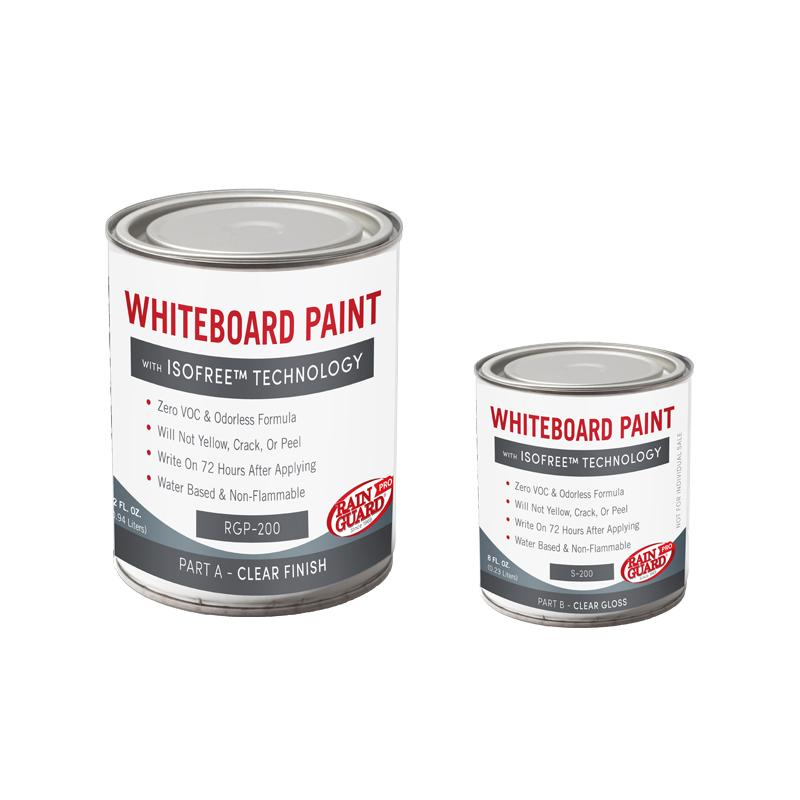 Dry Erase Whiteboard Paint Clear Gloss