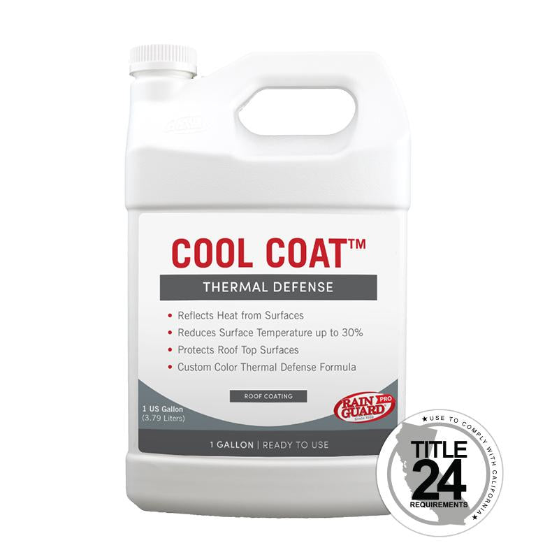 Cool Coat Roof Coating - White