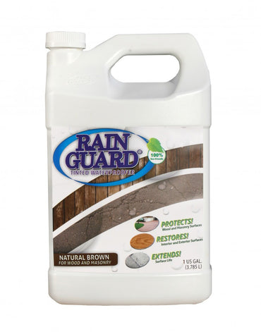 Rainguard Tinted Waterproofers (Natural Brown) 1 Gallon