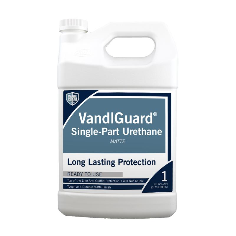 VandlGuard Single-Part Urethane Clear Matte Finish