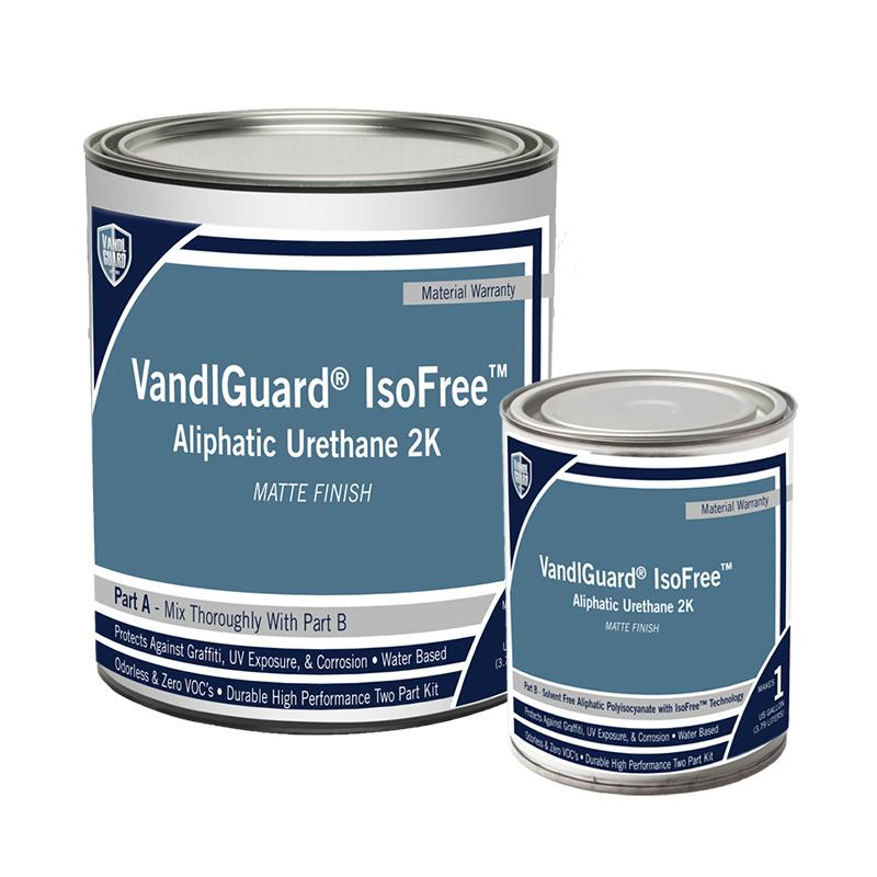 VandlGuard IsoFree Aliphatic 2K White Base Matte Finish
