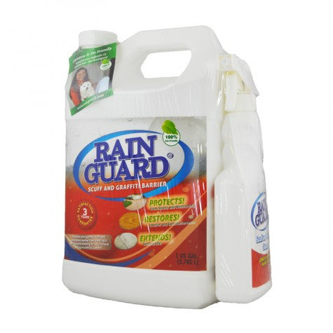 Rainguard Scuff and Graffiti Barrier Sealer 1 Gallon & Cleaner 16 Oz. Combo Pack