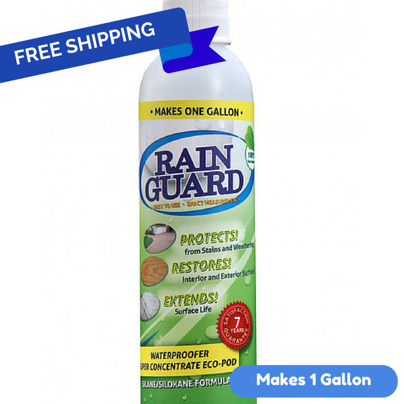 Rainguard Waterproofer Standard 7 Year (Concentrate) Eco-Pod 6 Oz.