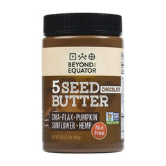 Beyond The Equator 5 Seed Butter Chocolate (16 oz)