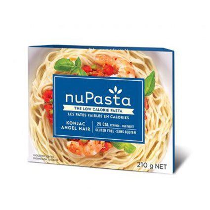 nuPasta Organic Gluten Free Low Calorie Konjac Angel Hair (7.4 oz)