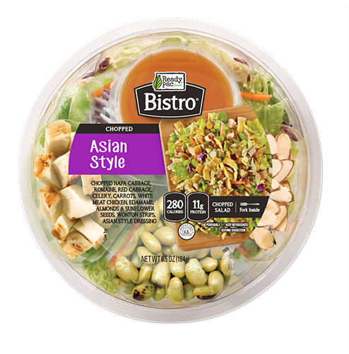 Ready Pac Foods Bistro Bowl Salads Chopped Asian Style, 6.5 oz