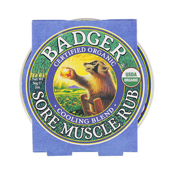 Badger Company Natural & Organic Sore Muscle Rub