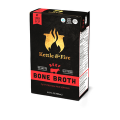 Kettle & Fire Classic Beef Bone Broth, 16.9 fl oz
