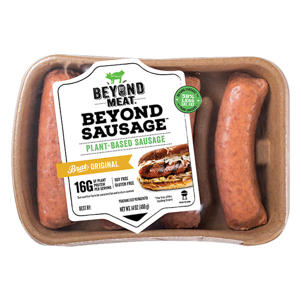 Beyond Meat Plant-based Brat Original Sausage, 14 oz