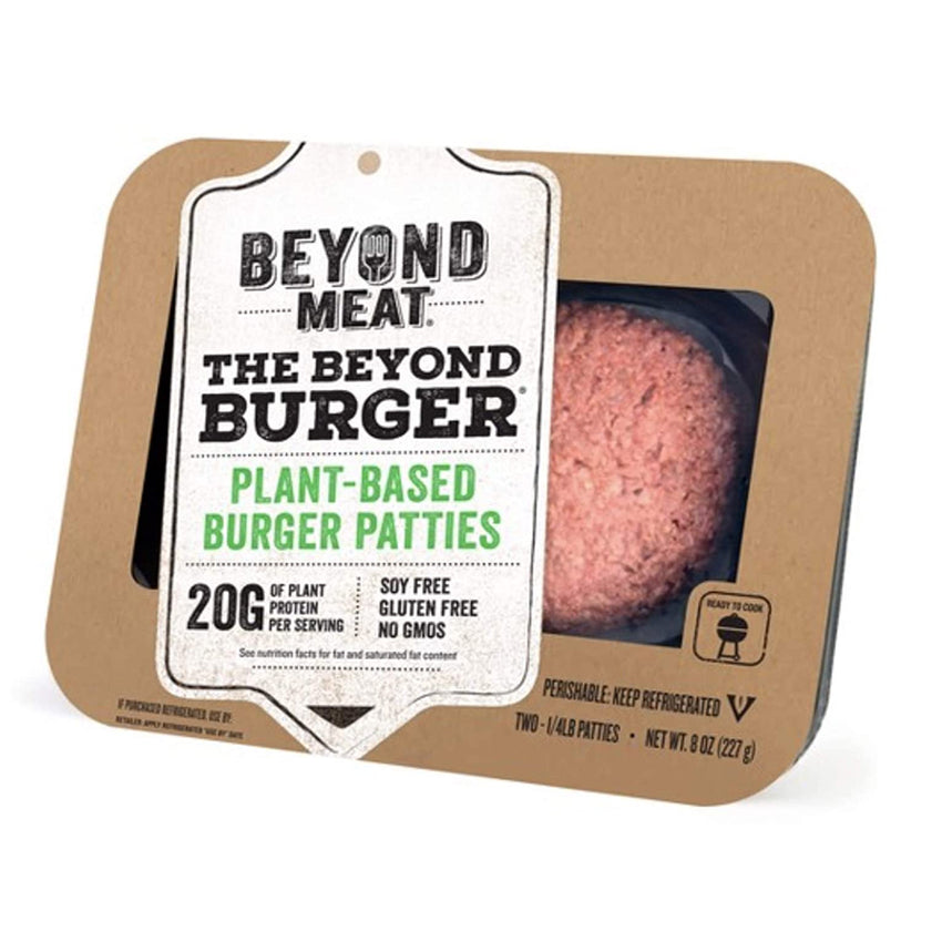 Beyond Meat Plant-based Burger Patties, 8 oz (2 - 1/4 Pound Patties)