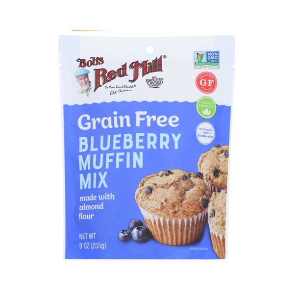 Bob's Red Mill Grain Free Gluten Free Blueberry Muffin Mix, 9 oz