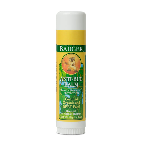 Badger Company Natural & Organic After-Bug Itch Relief Stick (.6 oz)