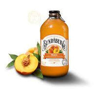 Bundaberg Peach Premium Brewed Australian Soda, 12.7 oz