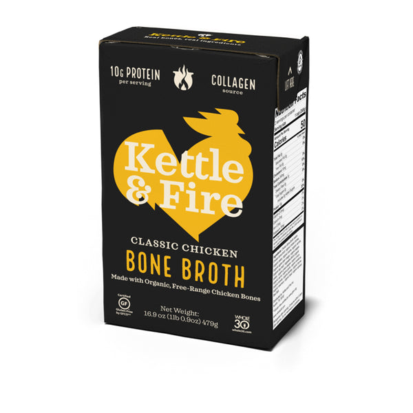 Kettle & Fire Classic Chicken Bone Broth, 16.2 fl oz