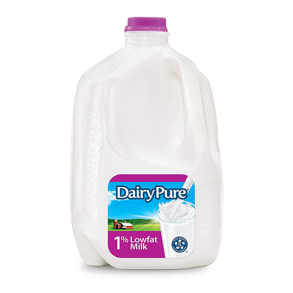 DairyPure 1% Lowfat Milk, 1 Gallon